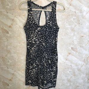 BillaBong Geometric pattern dress coverup